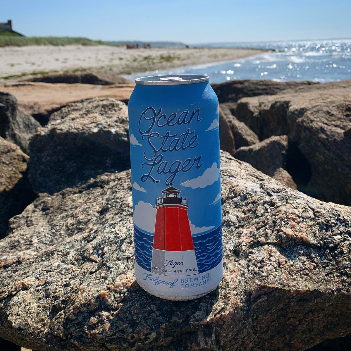 Heat remedy #1 right here. It's gonna be another scorcher. Taproom opens at 1:00. #heatwave #osl #lager #oceanstate #RhodeIsland #summer #craftbeer