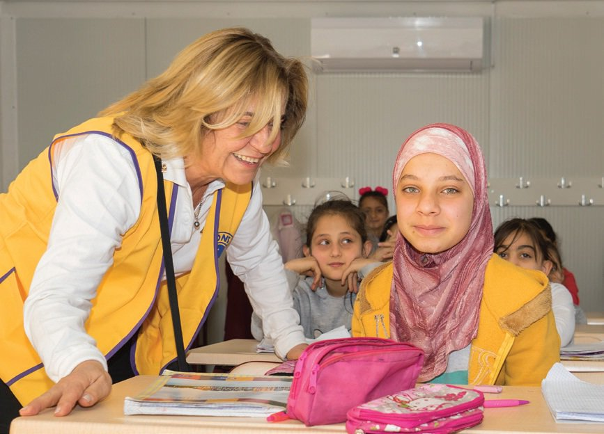 test Twitter Media - For over three years, Lions in Turkey have partnered with Lions in Sweden to aid refugees in Turkey along the Syrian border. They transformed shipping containers into classrooms, trauma centers, and multi-purpose meeting halls for refugees ➡️ https://t.co/MqaOJ3JRdK #WeServe https://t.co/RRHLWkhWyl
