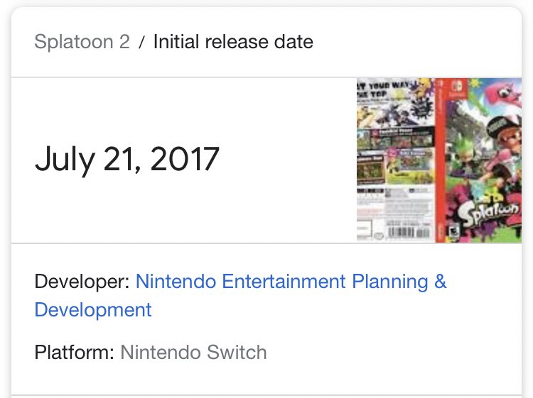 Today is the day you can RT Happy 2nd Anniversary Splatoon 2   #Splatoon2 #Splatoon2Anniversary<br>http://pic.twitter.com/Jl72WtsKHW