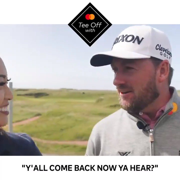 Has @Graeme_McDowell nailed the American accent? 🇺🇸 😉 #TheOpen #StartSomethingPriceless