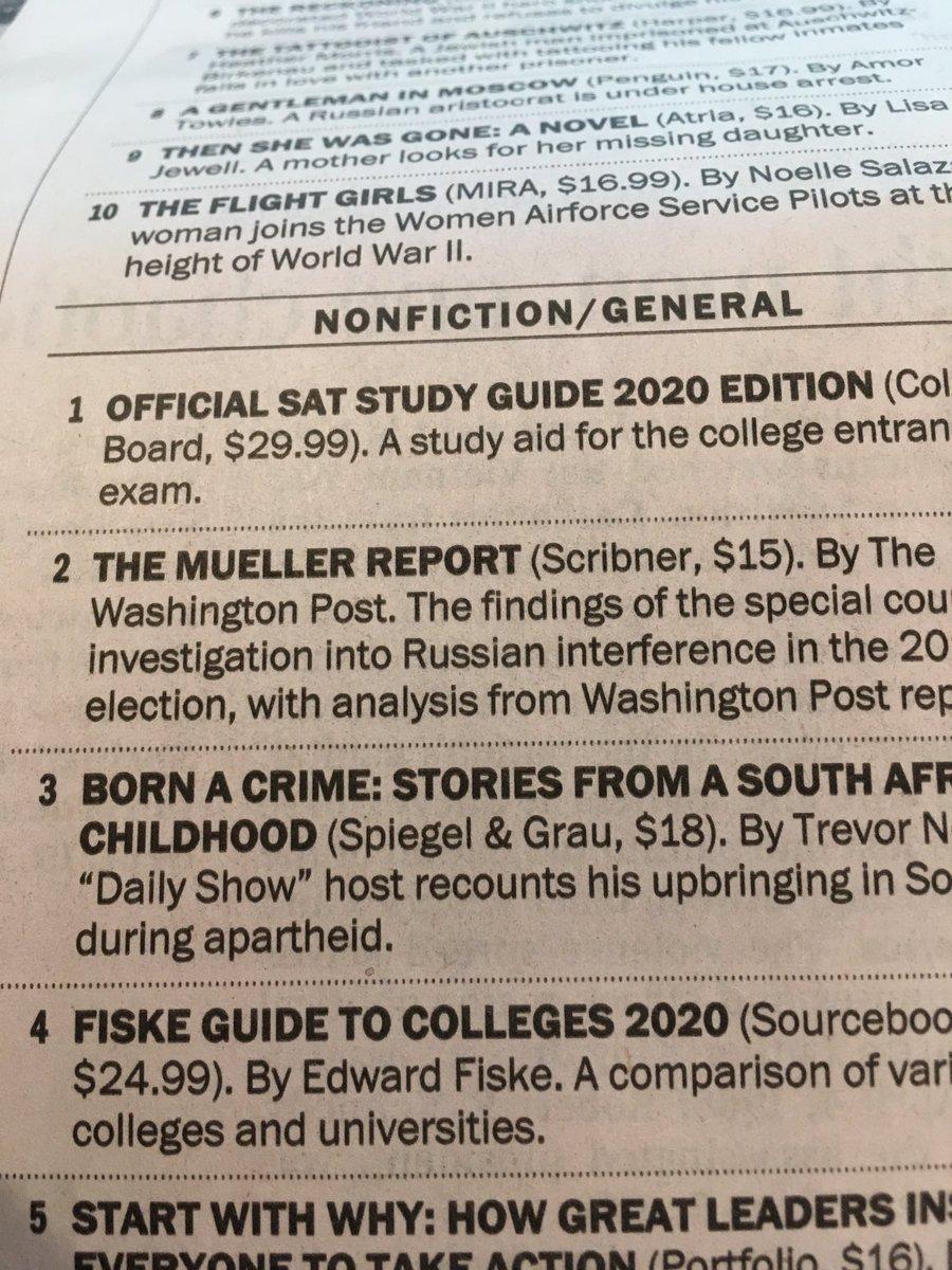 Best Seller List 2020 Glenn Kessler on Twitter: