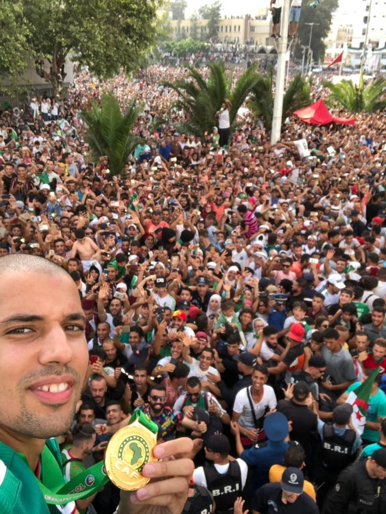 Celebrating Africa with a view   #TotalAFCON2019   : @sffeghouli<br>http://pic.twitter.com/u5NI65hRSe