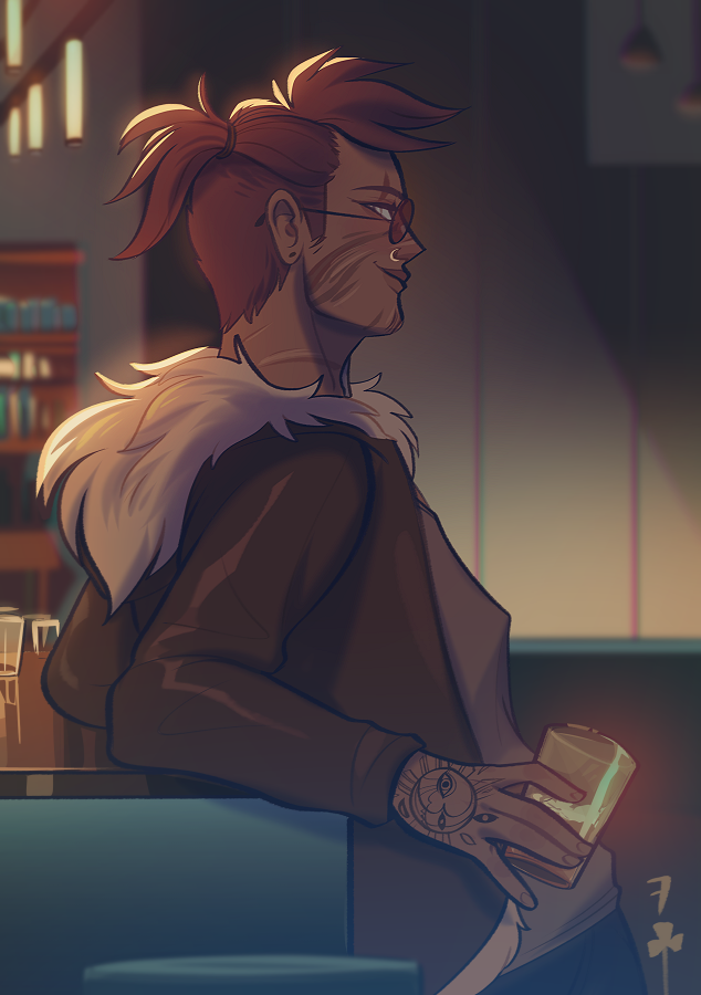 [ bloodhound / apex legends ]  stranger in the bar <br>http://pic.twitter.com/RiIzhG5rCW