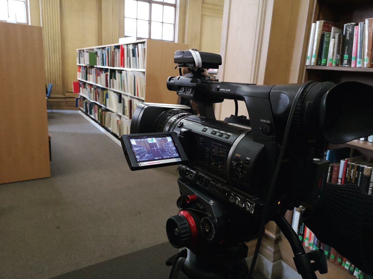 A cheeky bit of filming in the library. Shhh...   #Library #Manchester #Camera #Filming #Filmmaker #Filmmaking #Production #Producer #Director #Recording #OnSet #BehindTheScenes #Footage #VT