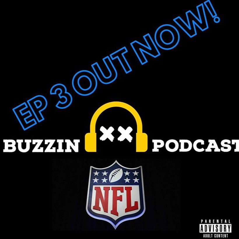 Episode 3 of the Buzzin Podcast is now out on Spotify and Apple Podcast.  This episode we break down the AFC & NFC East and North divisions all while talking that shit to each other and discussing what our go to drink is on Sundays.  Follow us, listen, and share!  #BuzzinPodcast pic.twitter.com/LuzJluS7hc
