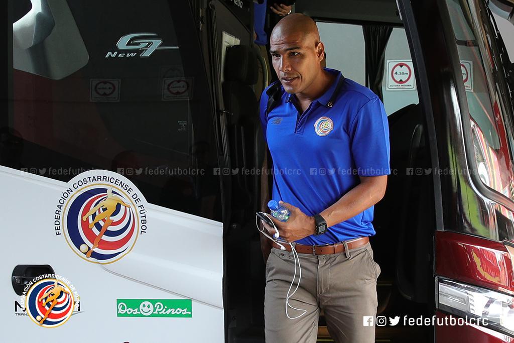 📷#LaSelePreolímpica🇨🇷 ya se encuentra en el estadio Alejandro Morera Soto.  #VamosTicos