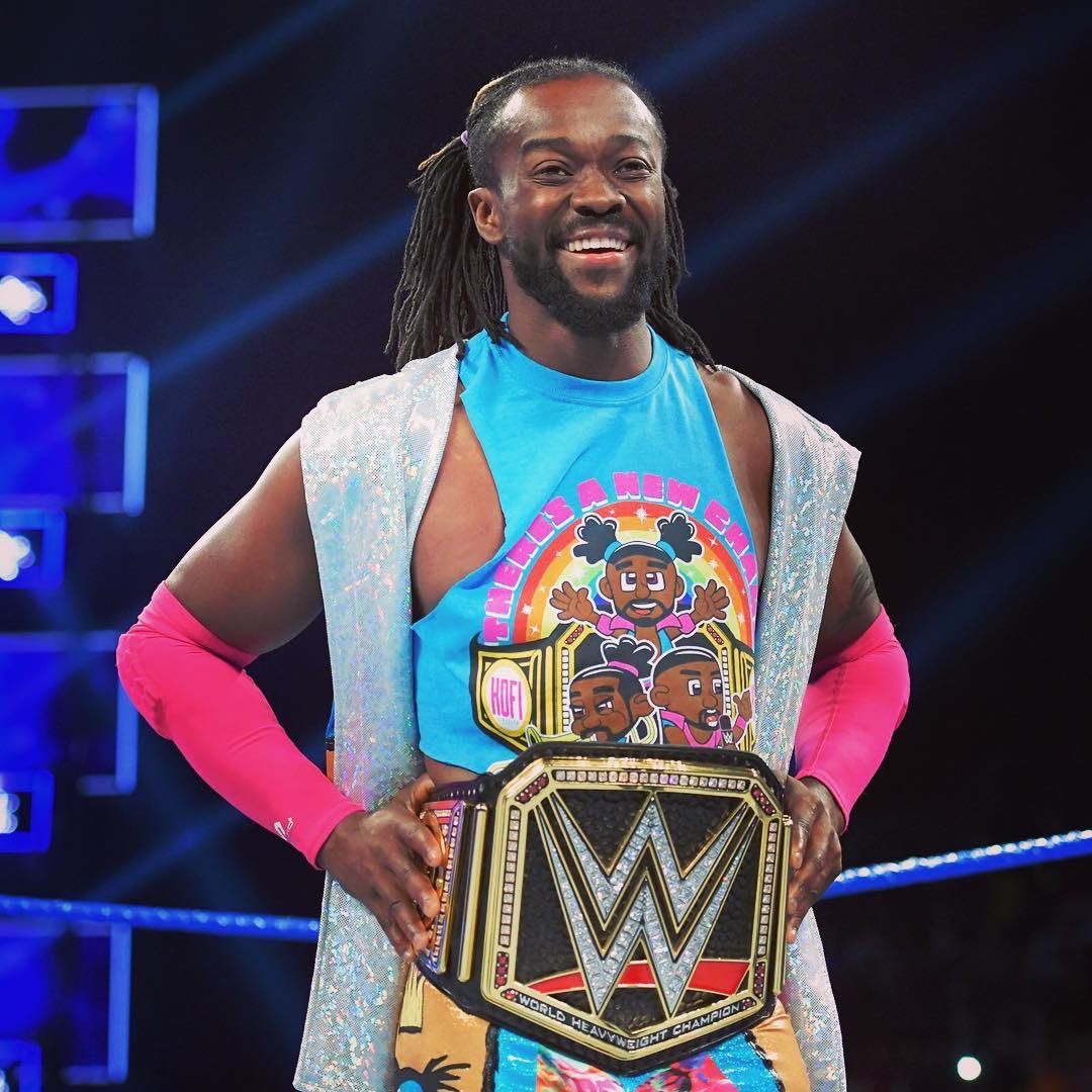 Don't forget to tune into the 100th episode of #ChasingGlory tomorrow with my very special guest, the current reigning @WWE Champion @TrueKofi! 🙌🏼 I can't wait for everyone to hear his real, raw, and inspiring episode! ❤️🙏🏼