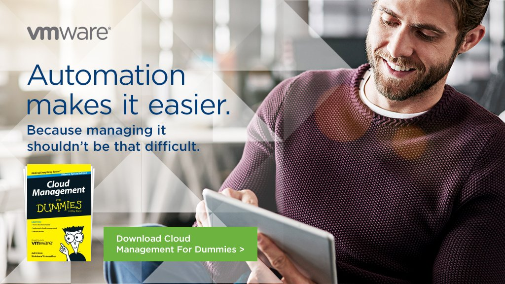 Need a better solution to operational bottlenecks and the tedious manual process of #cloud? 🤔This Fre-eBook is for you! 📗http://bit.ly/2YfLNFw