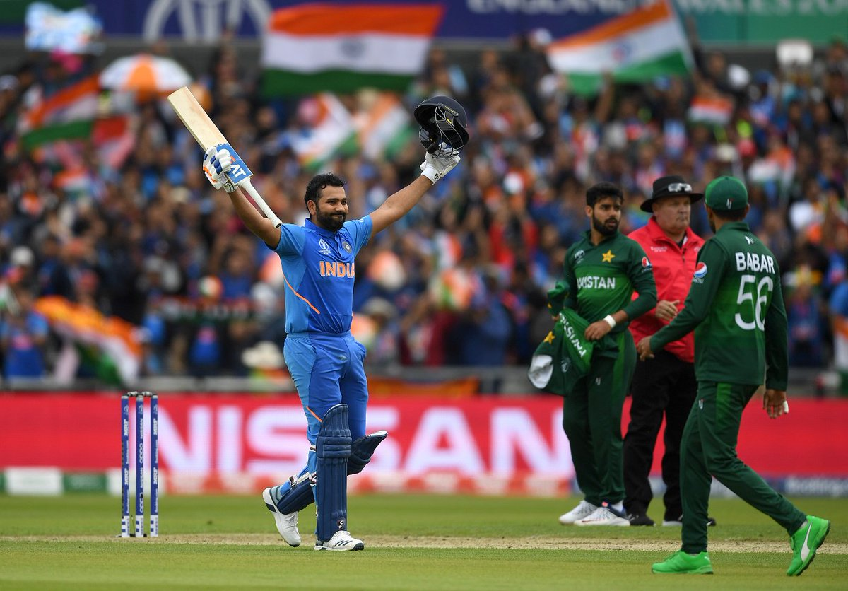 Match 22: #INDvPAK  Manchester turns blue in highly-anticipated clash https://es.pn/2GmG06N