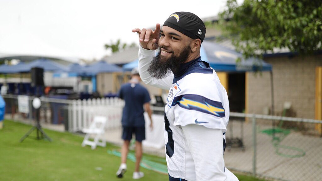 FOOTBALL IS BACK THIS WEEK. see y'all there » http://chargers.com/camp