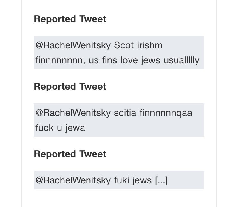 I love being a Jew on twitter dot com