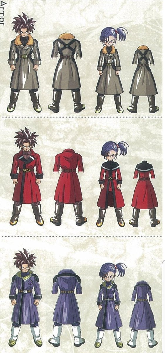 Dragon ball online had amazing designs