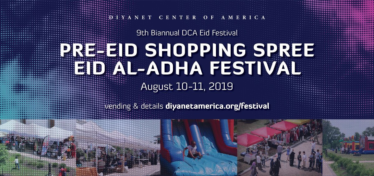 Diyanet America, Dar Al-Hijrah Islamic Center, PGMA and 6 others