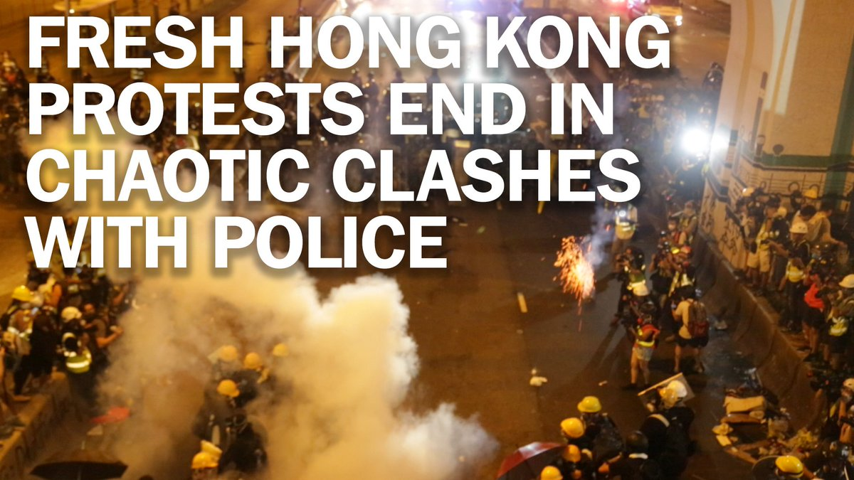 Fresh Hong Kong protests end in chaotic clashes with police mag.time.com/13dBdHg