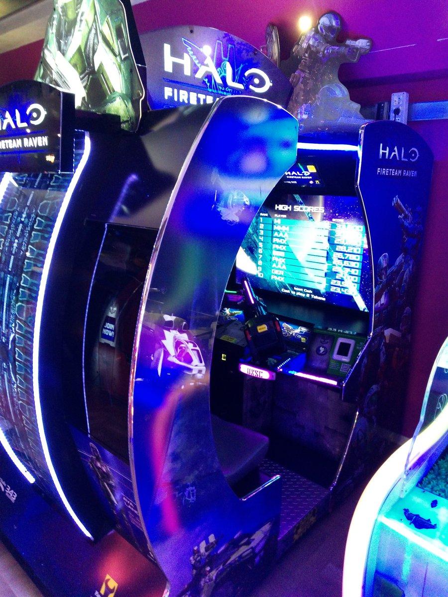 The new Halo fireteam raven - awesome #arcade #halo #arcadeclassic