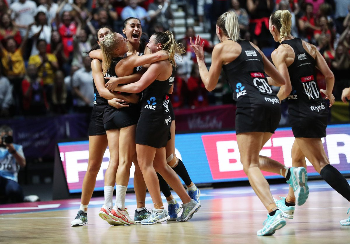 Thank you everyone for coming with us on this ride, the Netball World Cup trophy is coming home to New Zealand for the first time in 16 years    @mbphotonz<br>http://pic.twitter.com/cfOzQSqCJ5