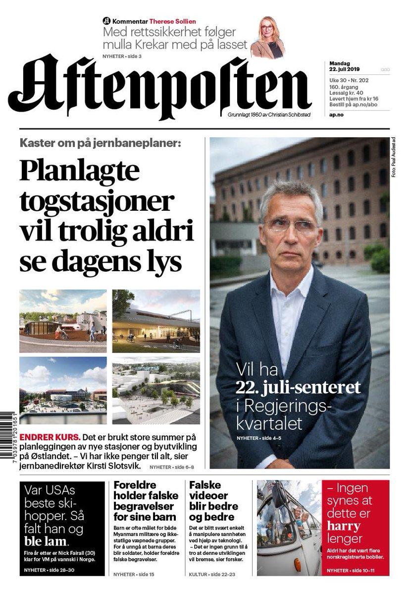 2704d516 Aftenposten (@Aftenposten)   Twitter