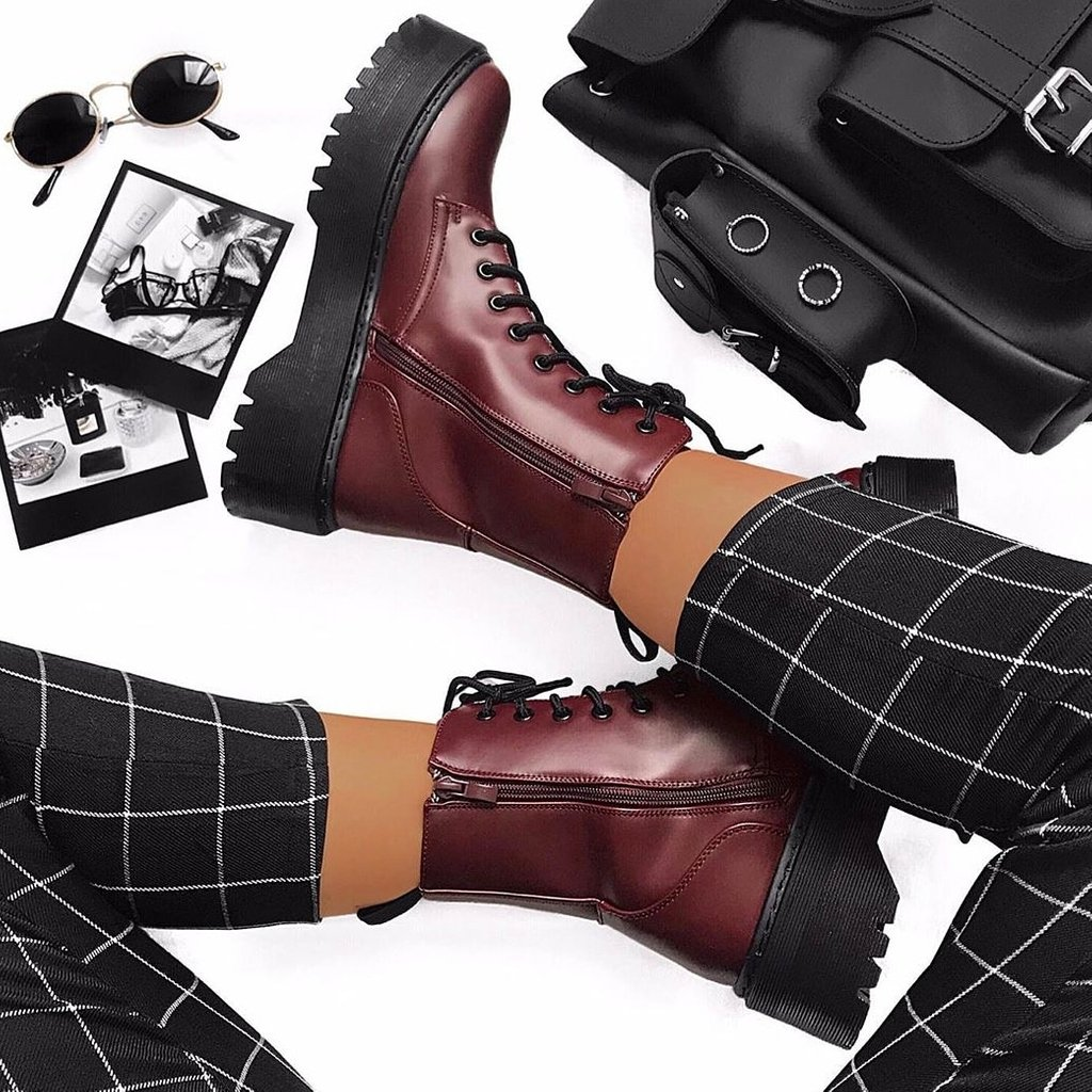 Image for Krushn' RN 🔥🔥🔥 ⁠ The Cherie Biker Boots on @conniespace 😍 ⁠ Shop 👉🏽 https://t.co/5y08kiUfWH #ikrushbabe https://t.co/4hf8ocWIFq