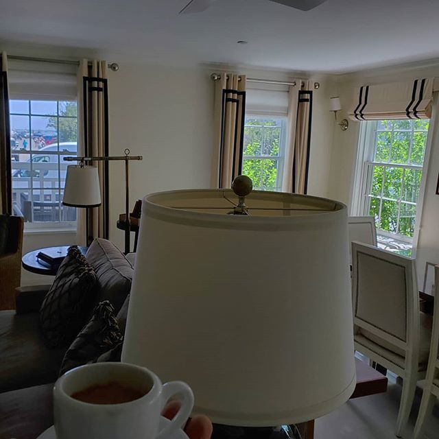 It's too bad really I can't stay. I got my espresso and I can see #sailboats from my living room. #Nantucket #downtown #islandLife #imOnAnIslandAgain #Nantucketer #imStartingToGetThis #WhiteElephant #WhiteElephantVillage https://ift.tt/2YbLNX3