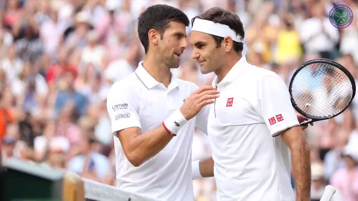 """These are the matches you work for, you live for""One week on, relive an instant classic through the eyes of the two protagonists... #Wimbledon"