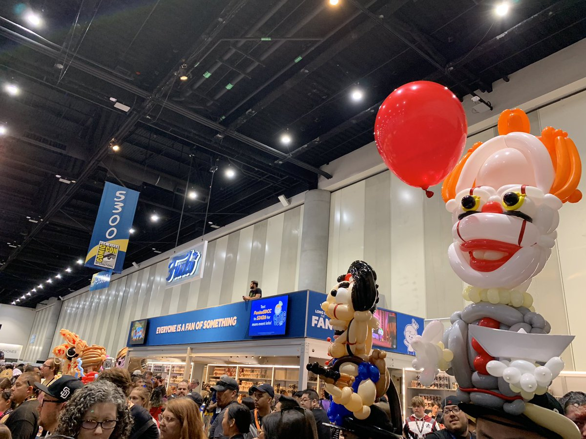Want a balloon? We think this balloon hat has that IT factor! #ITReturns #IT2 #IT #FunkoSDCC 🎈