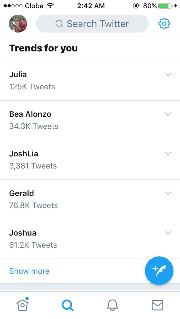 I need a popcorn on this 😂 #nakikitrendinglang Julia, Bea, Gerald and Joshua 🤐
