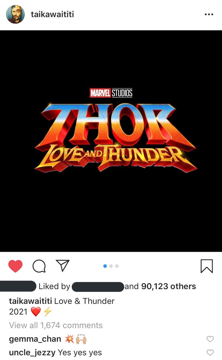 joe keery commenting under taika's post... my n*pple hard