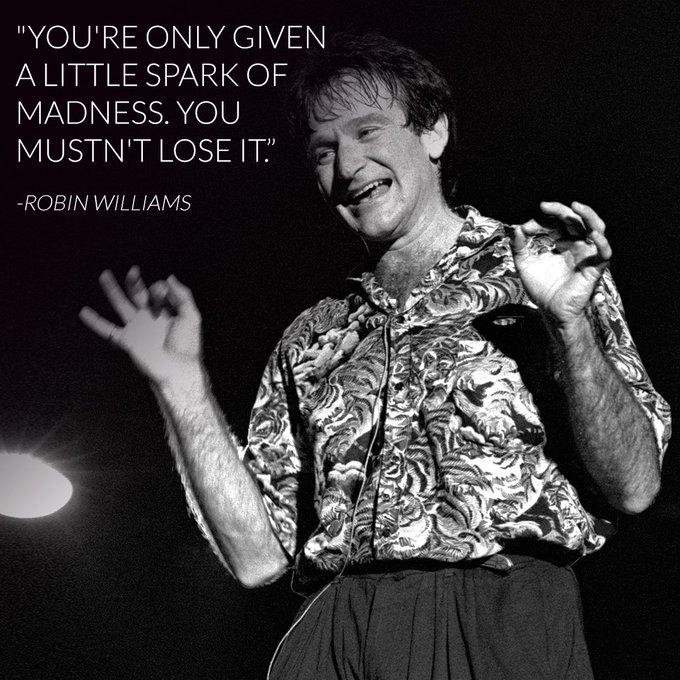 Happy birthday Robin Williams. We miss you.