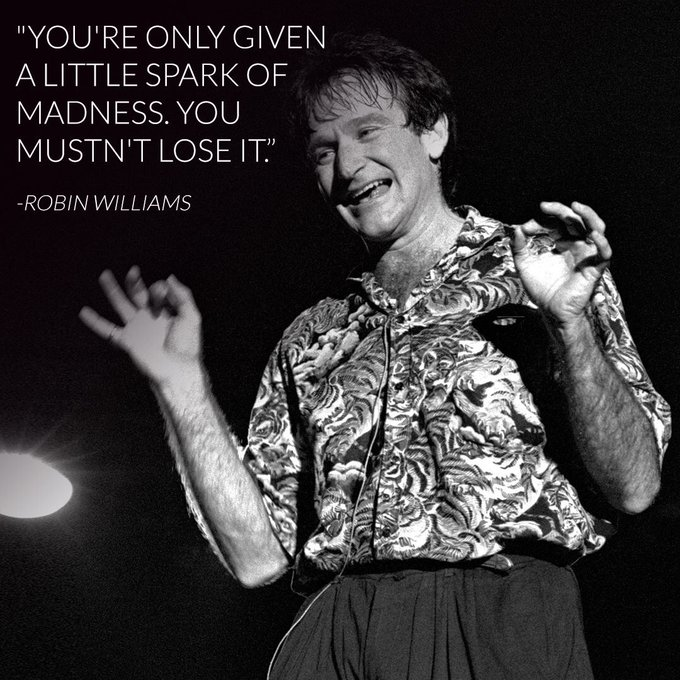 Happy Birthday Robin Williams the world misses you