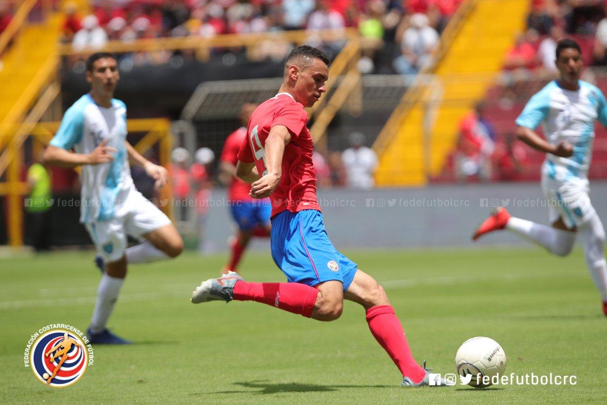 ¡Clasificamos al Preolímpico! #LaSelePreolímpica🇨🇷 clasificó al Preolímpico de la CONCACAF con el marcador global 3-2 sobre Guatemala 🇬🇹. #VamosTicos