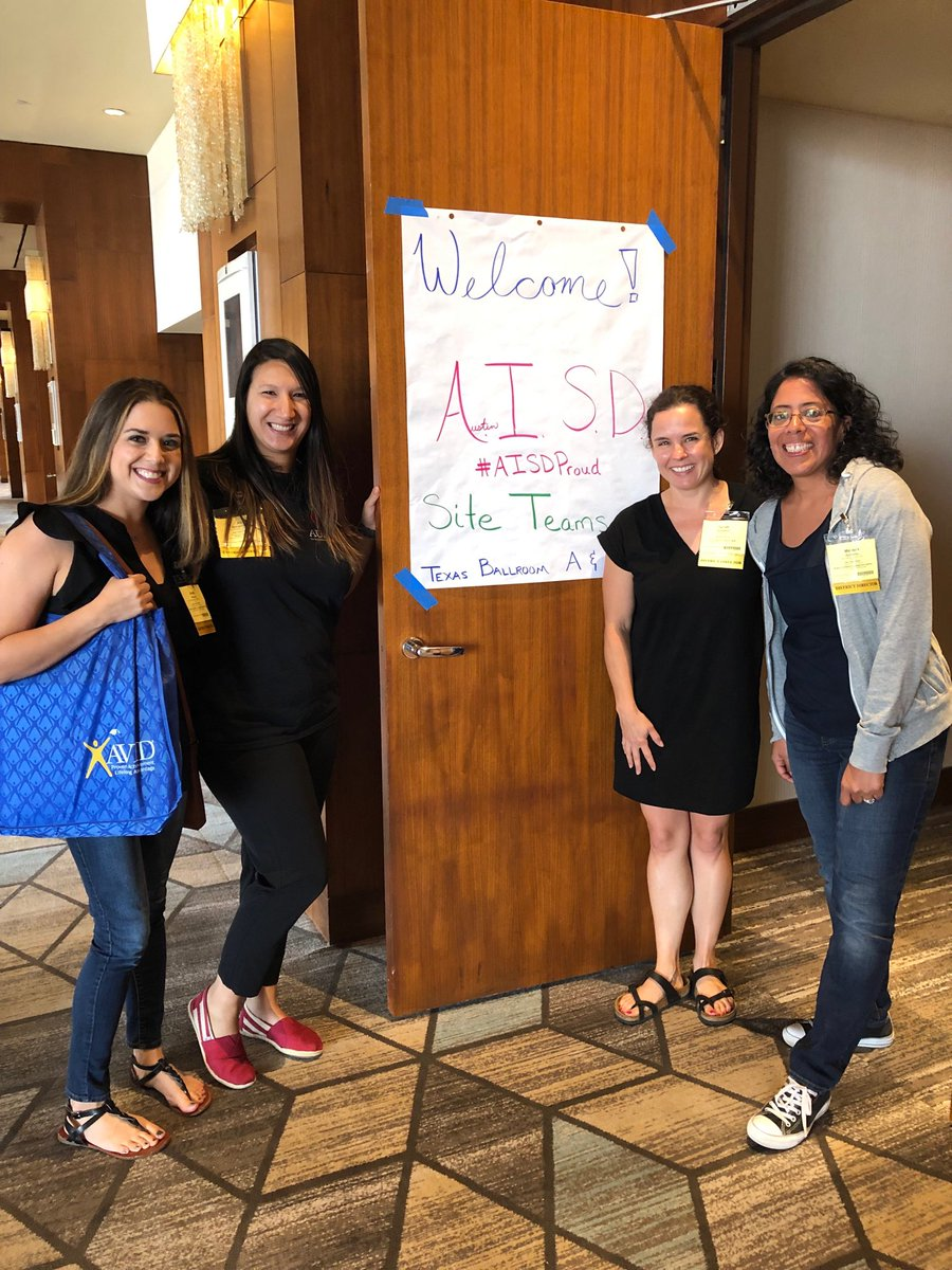 We're ready for @AustinISD in San Antonio see you bright and early @AustinISDAVID #thisisAVID