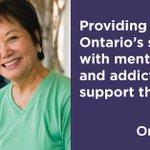Image for the Tweet beginning: Ontario's new Seniors Mental Health
