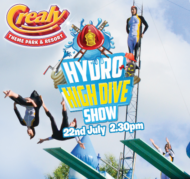 It's back, the Amazing Hydro High Dive Show at @CrealyResort this Summer #dayout #schoolsoutforsummer #holiday #staycation #makememories  #familyfun #exploreDevon #themepark #thrillseekers #familytime More days out at https://buff.ly/2KZIEje