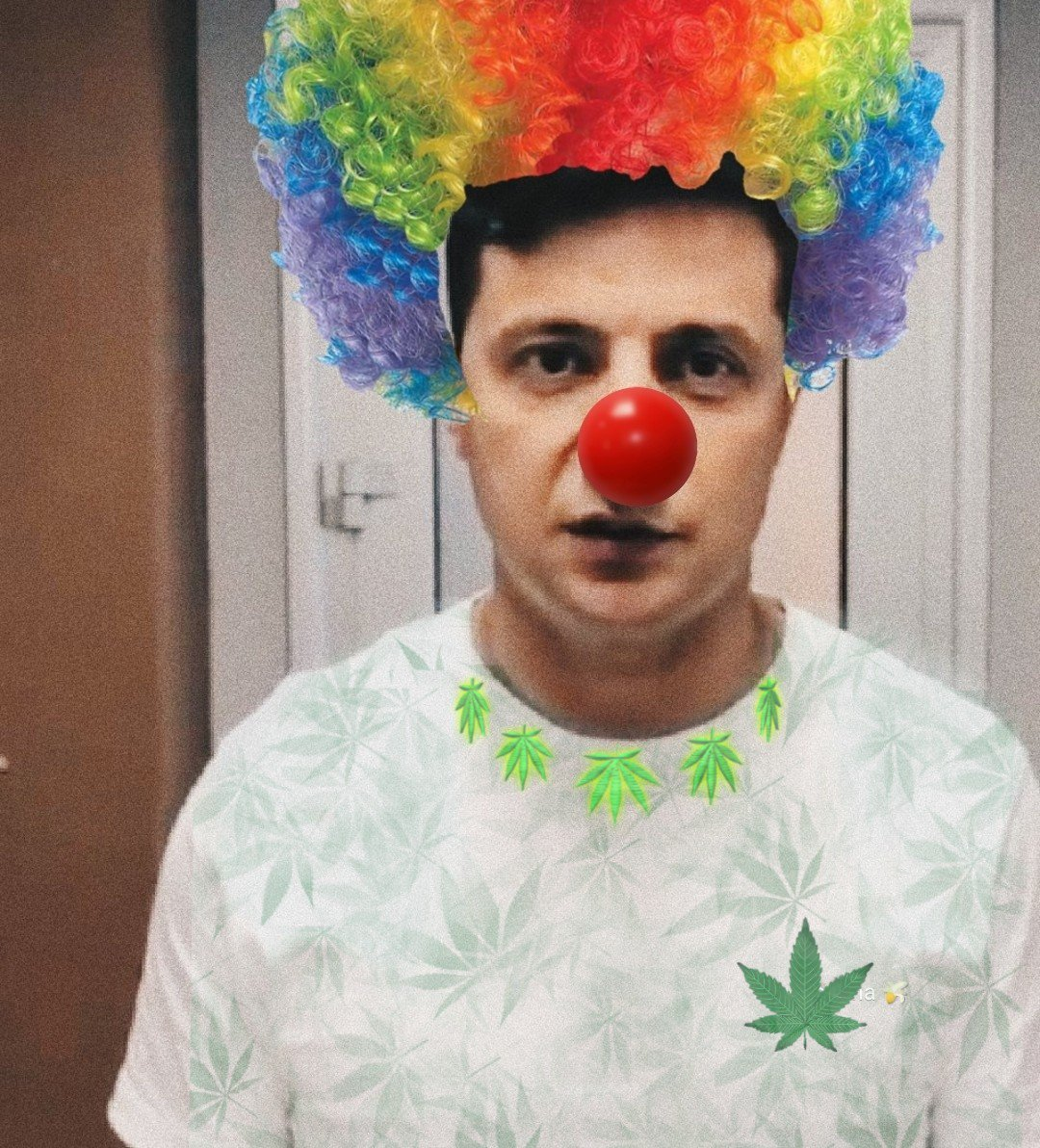 Зеленский клоун демотиватор