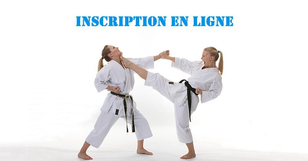 Inscriptions au karaté saison 2019-2020 http://bit.ly/30MLHmY #karate
