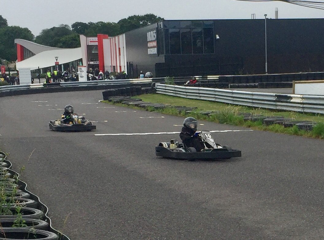 What to do when there's no @F1 to watch?? We go karting of course! Showing some #RSSpirit at @SouthWestKart Cadet Super Sprint event with the boys taking the win & second place. Destined for a @RenaultF1Team drive maybe?? #futuref1drivers #3wicksboys