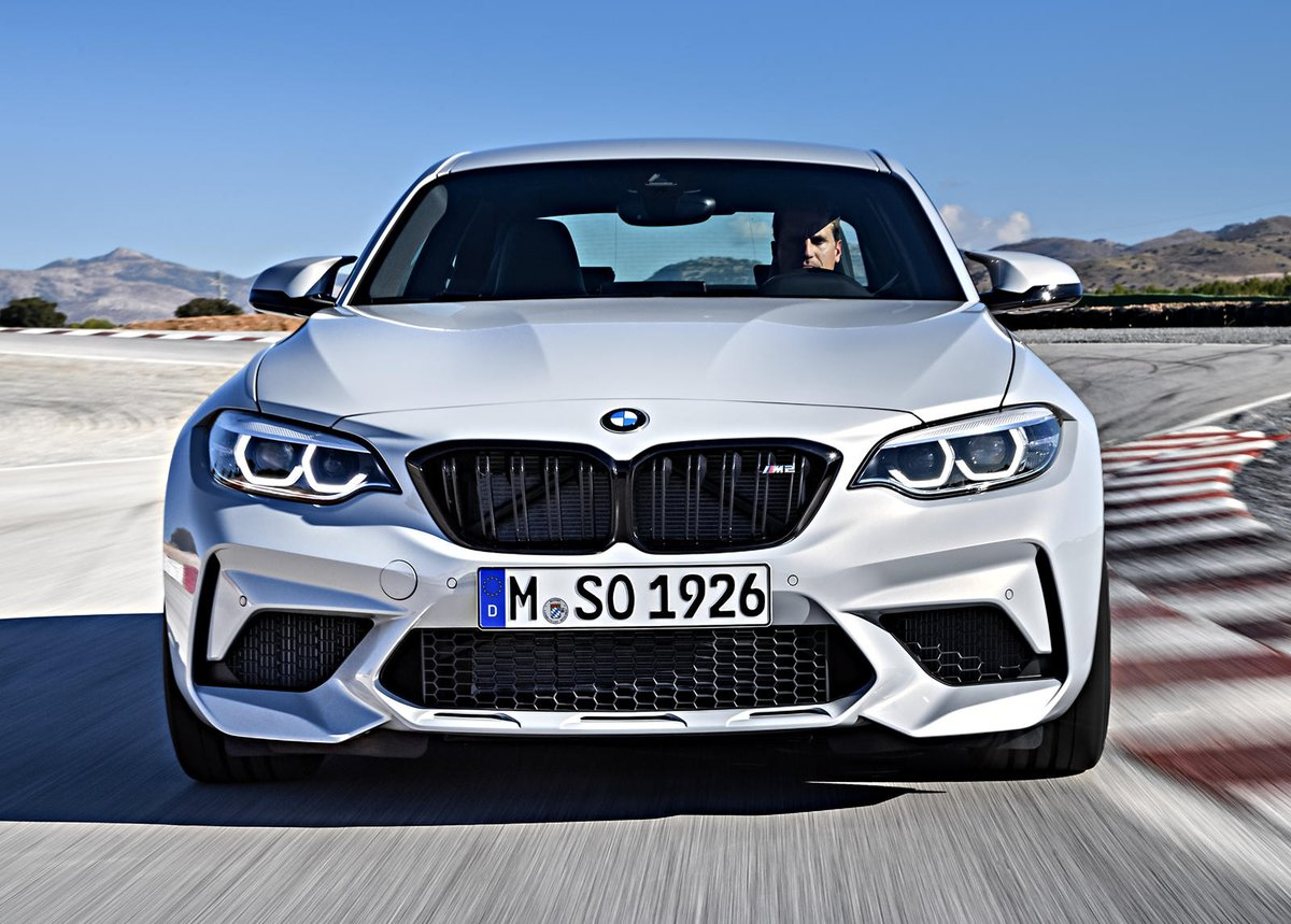 BMW M2 Competition Proves Something No One Thought Possible. Time for another manual vs. DCT competition. #coupe #mperformance #testing #transmission Read: http://car.bz/si3iqf1