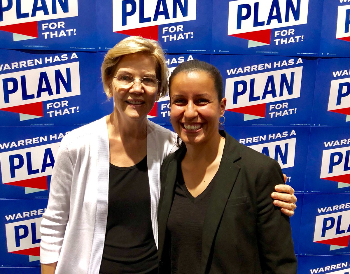 At #NN19 last week, I caught up with @ewarren before she went on stage to talk about her plans for the U.S. Talked about the importance and power of building movements from the grassroots. <br>http://pic.twitter.com/Hywz3HLvfd