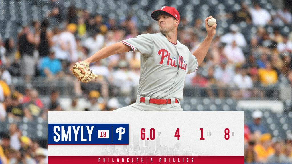 Smyly draws comparison to Phillies star in debut