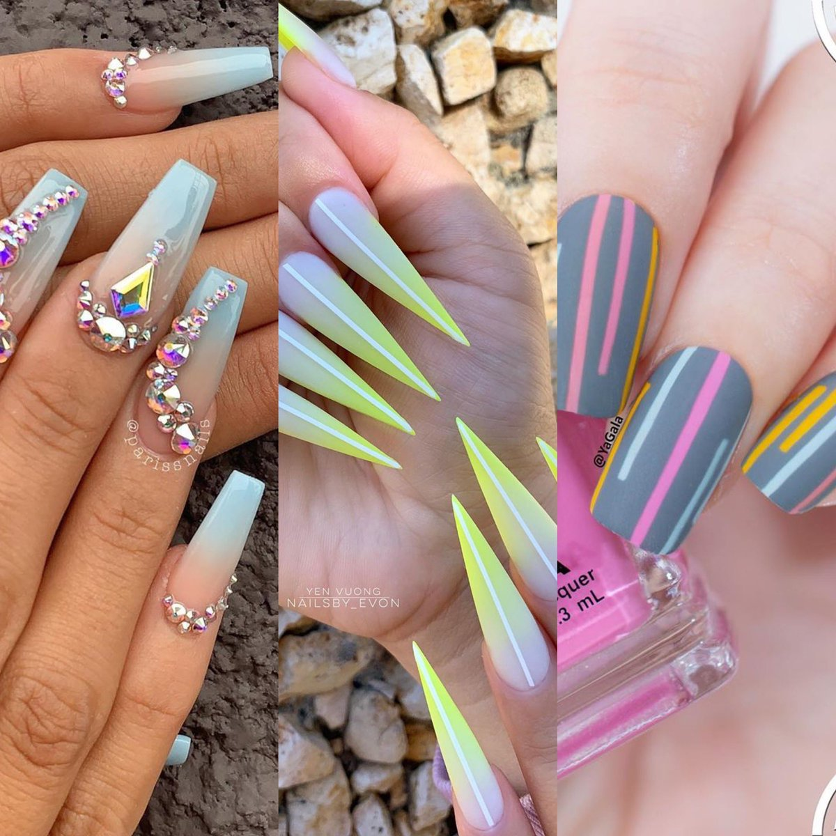 Subscribe to our Youtube channel for stunning looks, nails & beauty advice! http://youtube.com/c/OrigeneOrigene…  Follow us on Instagram @origeneglamakeup Photo credits @nailsby_evon @pariss_nails  #pressplay #beauty #nails #nail #nailsofinstagram #naildesign #naildesigns #fashion #style