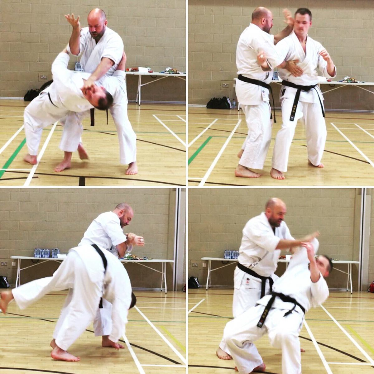 A deep dive into Kururunfa in Wrexham today! Bunkai and drills for the full kata; along with plenty of emphasis on the underlying concepts. It was a fun one! Thanks everyone! #iainabernethy #karate #kata #bunkai #practicalkatabunkai #practicalkarate #karatejutsu #karatedo