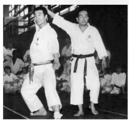 #karate #shotokan #sensei NAKAYAMA & OSAKA