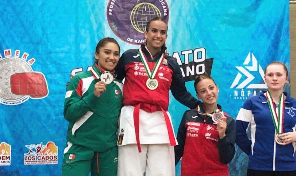 #Karate Cinthia de la Rúe @delarueteam consigue plata en Iberoamericano de Karate, previo a #Lima2019 https://deportedigital.mx/cinthia-de-la-rue-consigue-plata-en-iberoamericano-de-karate-previo-a-lima-2019…