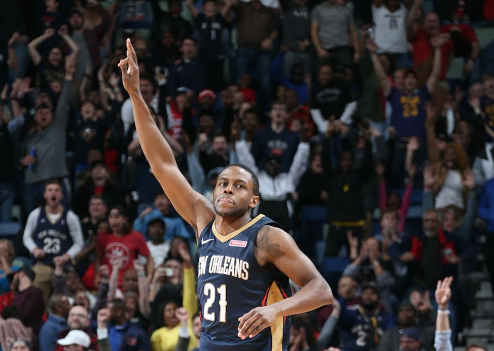 Roster Move: The #Pelicans have re-signed forward Darius Miller (@DmillerKY)! 🏀