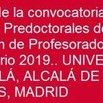 Image for the Tweet beginning: #España #ayudas #subvenciones #contratos #predoctorales