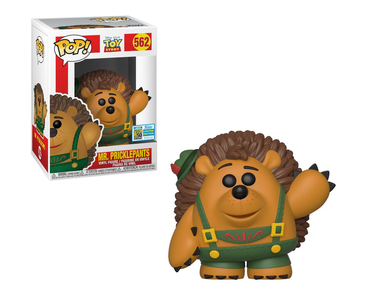 RT & follow @OriginalFunko for a chance to win a #SDCC Exclusive Mr. Pricklepants Pop! #SDCC #FunkoSDCC #SDCC50 #SDCC2019 #ToyStory