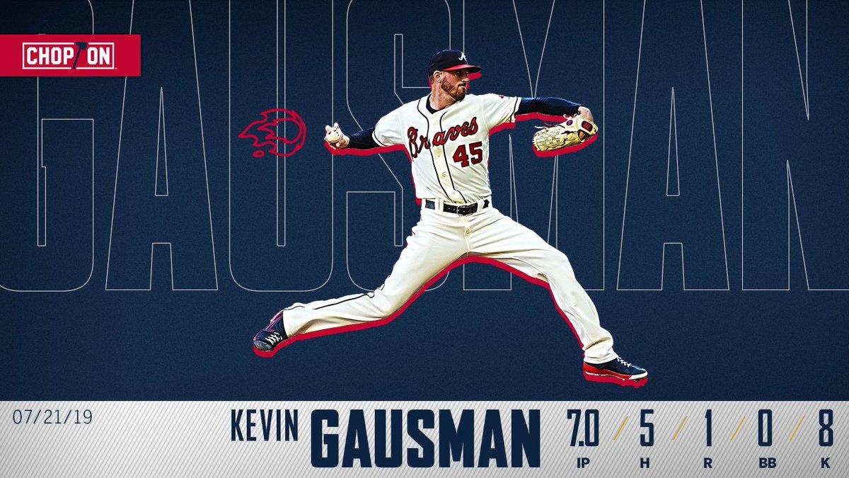 Welcome back, @KevinGausman! 🔥#ChopOn