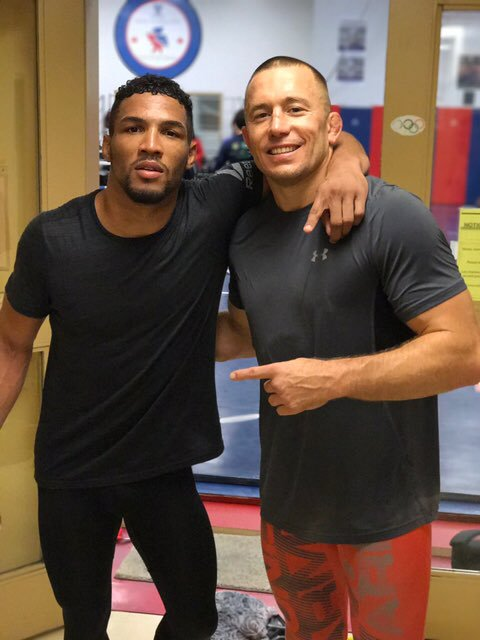 "Kevin Lee on his move to Tri-Star & training with GSP. ""That's what I've been missing...He's going to train with me a lot. I feel like he'll be another one of those great minds that I can kind of pick"" https://www.youtube.com/watch?v=WvfrE7iZ-tA&feature=youtu.be … #UFC #MMA #WMMA #TeamMMA4LIFE #PeoplesMMA"