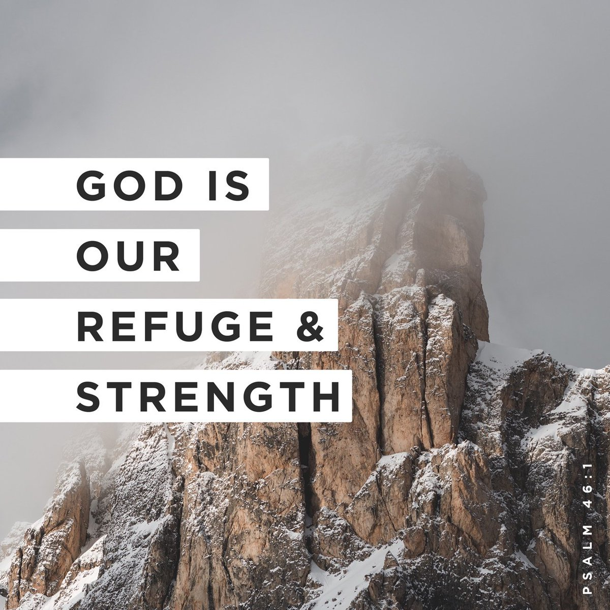 God is our refuge and strength, A very present help in trouble. Psalms 46:1 NKJV  https:// bible.com/verse-of-the-d ay/psa.46.1/20503   … <br>http://pic.twitter.com/ePkpkkwrIe