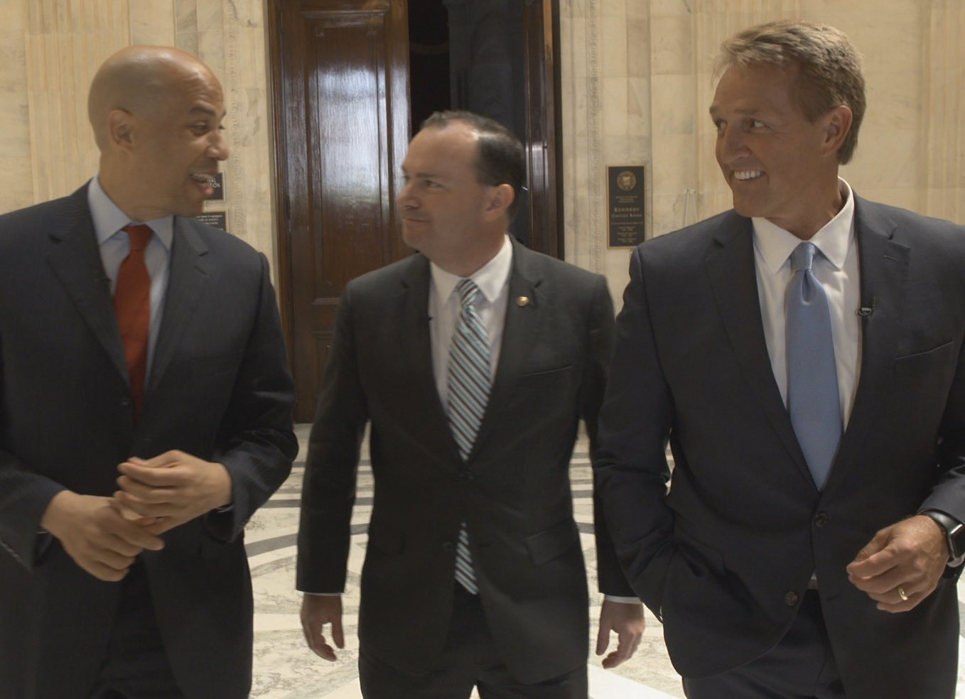 Jeff Flake: Can bipartisanship break out in this hyper-partisan era? Watch @CoryBooker and @SenMike...